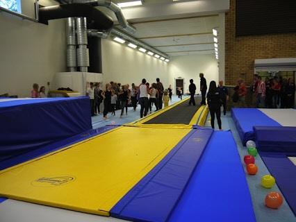 Tullinge Gymnastikförening i Eklidshallen