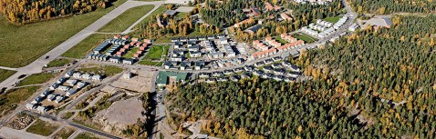 Bostäder vid Rikstens Friluftsstad